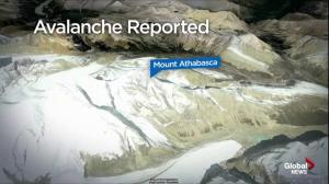 Climbers caught in avalanche in Jasper National Park